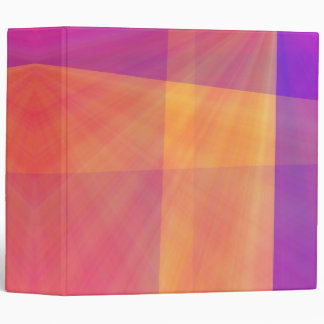 stained glass look with tropical colors binder