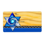 Stained Glass Magen David (To-From) Label