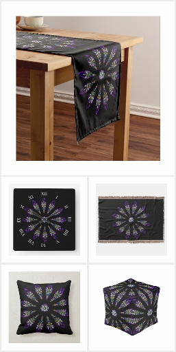 Stained Glass Mandala Home Decor