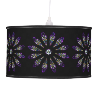 Stained Glass Mandala Lamp