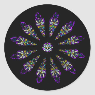 Stained Glass Mandala Stickers
