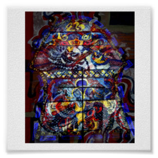 Stained Glass Memory Poster