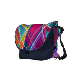 Stained Glass Messenger Bag