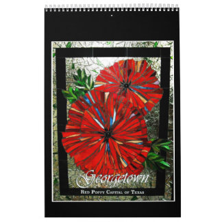 Stained Glass Mosaic Calendar