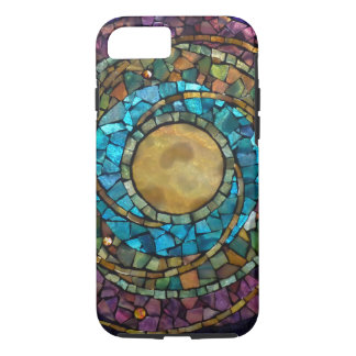 "Stained Glass Mosaic ""Celestial"" iPhone 7 Case"