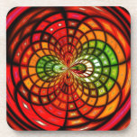 Stained Glass Mosaic Drink Coaster