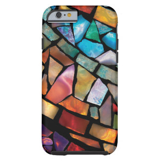 Stained Glass Mosaic Fiesta Fun iPhone 6 Case