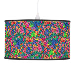 Stained Glass Mosaic Hanging Lamp