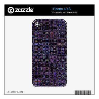 Stained Glass Mosaic iPhone 4 Skin