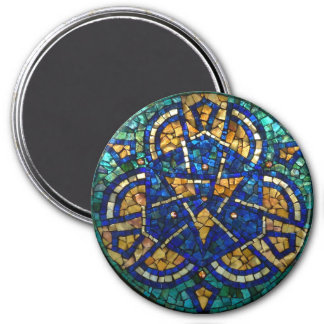 "Stained Glass Mosaic Magnet ""Kaleidoscope"""