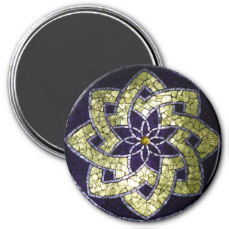 """Stained Glass Mosaic Magnet """"St. Arnold's Star"""""""