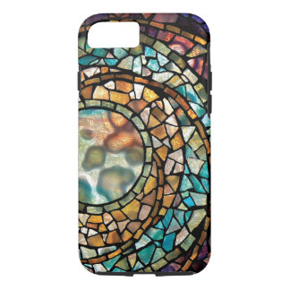 Stained Glass Mosaic Mandala iPhone 7 Case
