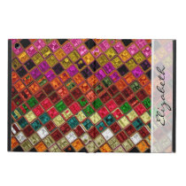 Stained Glass Mosaic Pattern #10 iPad Air Case