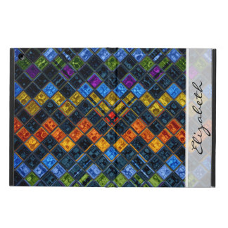 Stained Glass Mosaic Pattern #7 iPad Air Cover