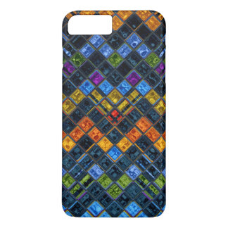 Stained Glass Mosaic Pattern #8 iPhone 7 Plus Case