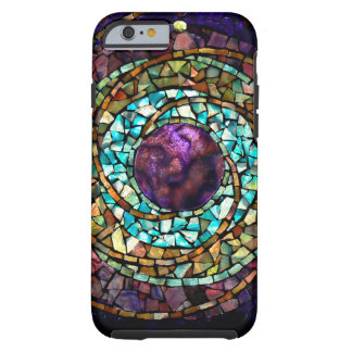 "Stained Glass Mosaic ""Planet"" iPhone 6 Case"
