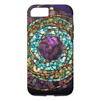 "Stained Glass Mosaic ""Planet"" iPhone 7 Case"