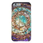 """Stained Glass Mosaic """"Water Planet"""" iPhone 6 Case"""