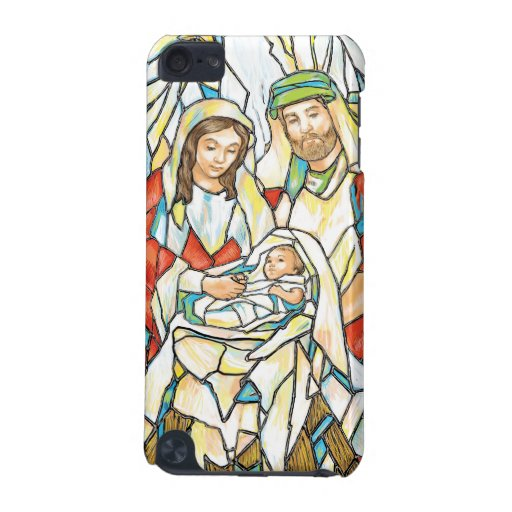 Stained Glass Nativity Painting iPod Touch 5G Case