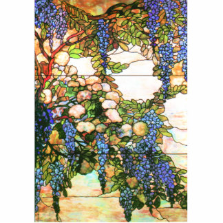 Stained Glass Nature Ornament Photo Cutouts