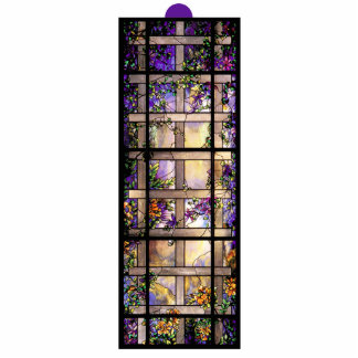 Stained Glass Nature Ornament Photo Cut Out