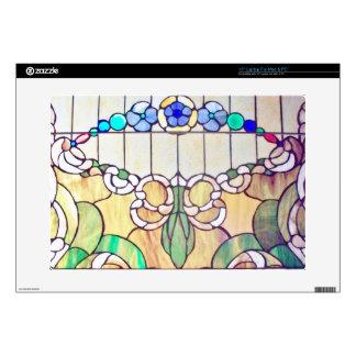 Stained Glass non religious Zazzle Skin Laptop Skins