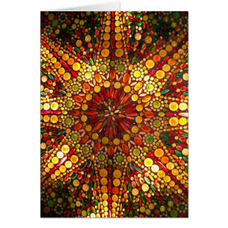 Stained Glass Note Cards