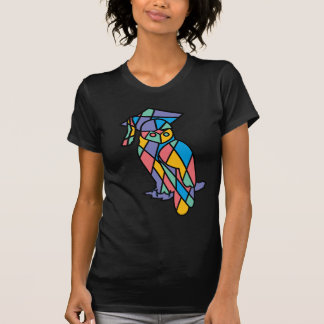 Stained Glass Owl T Shirt