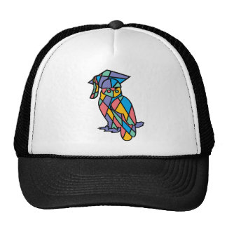 Stained Glass Owl Trucker Hat