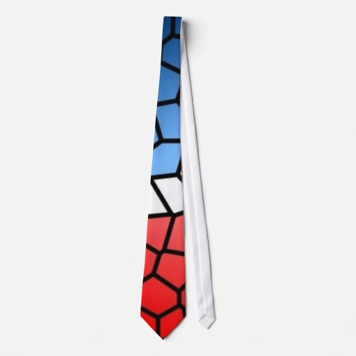 Stained Glass Patriot - tie