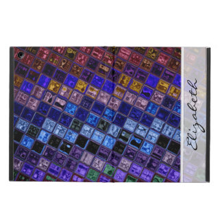 Stained Glass Pattern #5 Cover For iPad Air