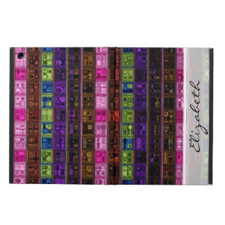 Stained Glass Pattern #9 Cover For iPad Air