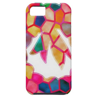 STAINED Glass Pattern Wreath Design iPhone 5 Cover