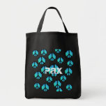 Stained Glass Peace Symbol Tote bag - Pax!