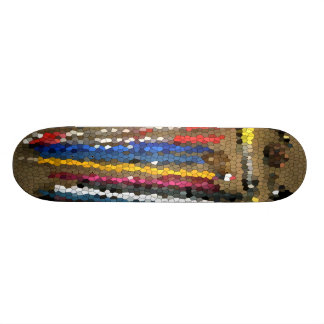 Stained Glass Pens Skateboard