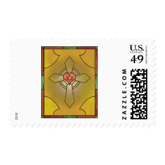 Stained Glass Stamp