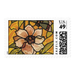 Stained Glass Postage Stamp
