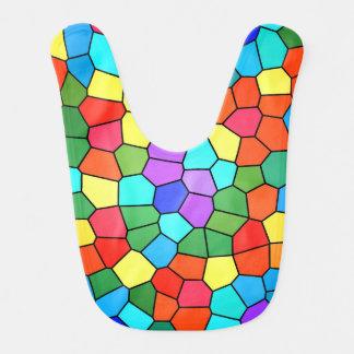 Stained Glass Rainbow 2183 Bib