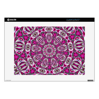 Stained Glass Redbud Laptop and Netbook Skin