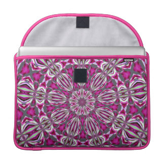 Stained Glass Redbud MacBook Pro Sleeve
