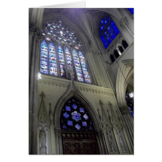 'Stained Glass' Religious Easter Greeting Card