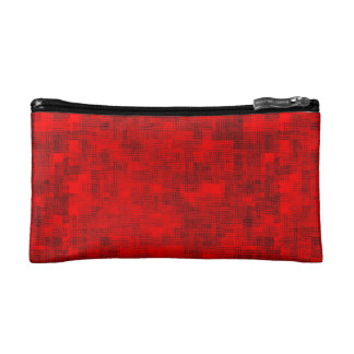 Stained-Glass Scarlet Cosmetic Bag