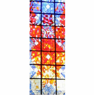 Stained Glass Sculpture Standing Photo Sculpture