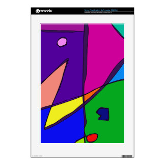 Stained Glass Simulation PS3 Console Decal