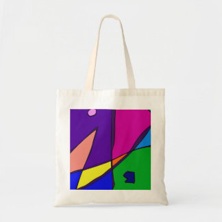 Stained Glass Simulation Tote Bag