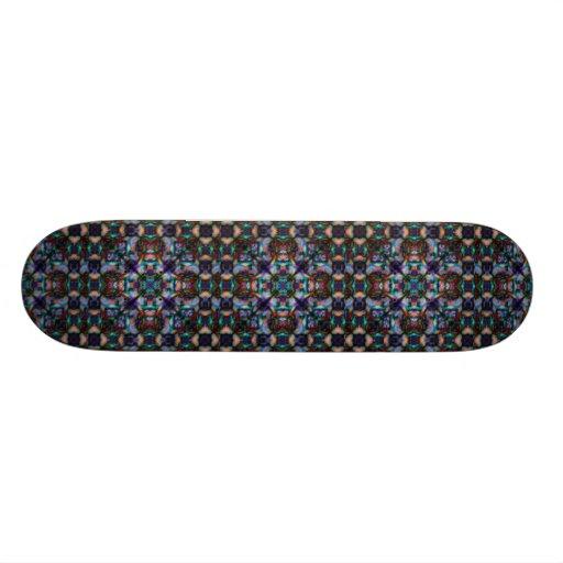 Stained Glass Skateboard Decks