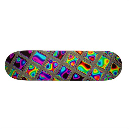 Stained Glass skateboard