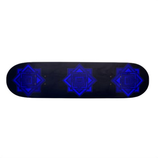 Stained Glass Skate Deck