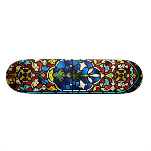 Stained Glass Skateboard Deck