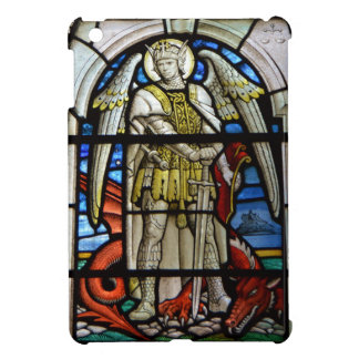 Stained Glass St Michael Helston Cornwall England Case For The iPad Mini